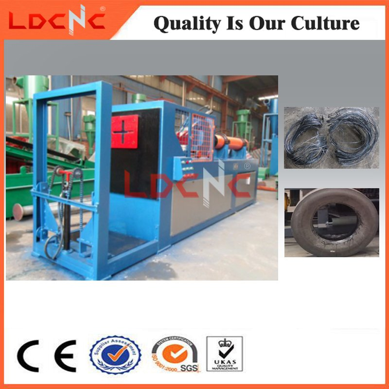 China Manufacturer Ce Certificate Waste Used Tyre Shredder Machine Price