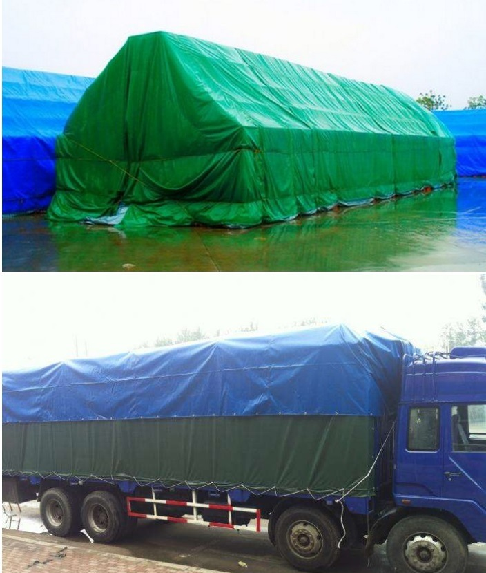 200GSM High Quality Blue Color PE Tarpaulin Fabric