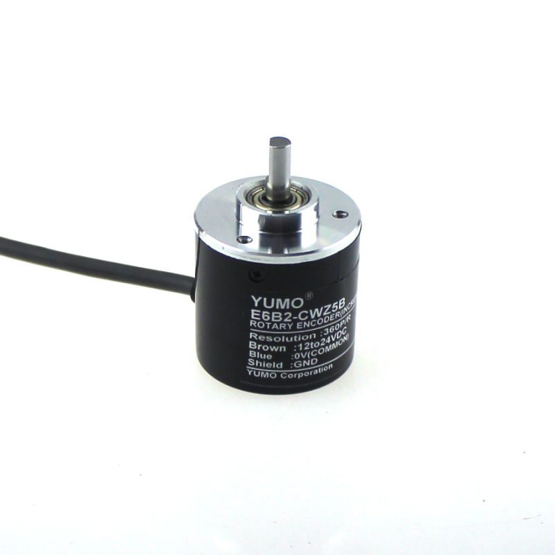 Yumo E6B2-CWZ5B 360PPR 12V 24V DC Shaft Incremental Rotary Encoder
