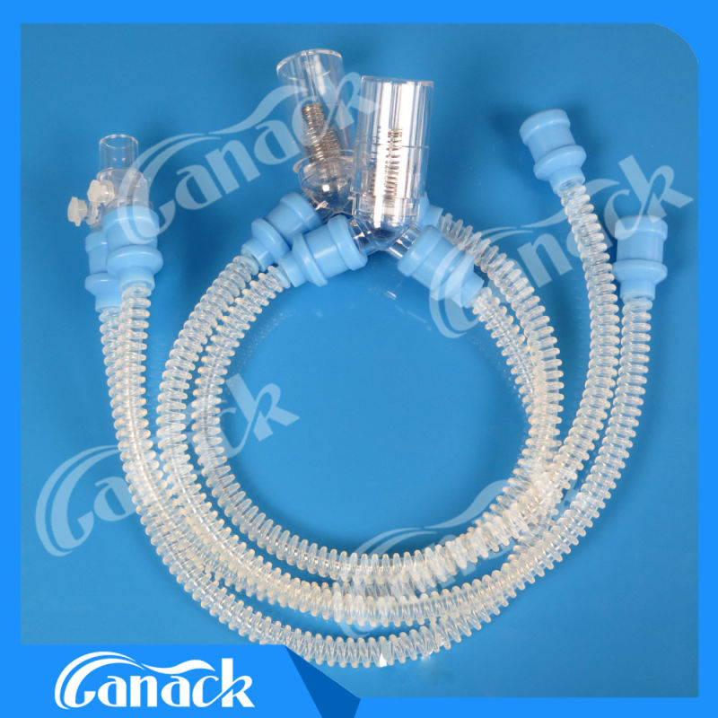 Ce/ISO 13485 Medical Silicone Anesthesia Breathing Circuit