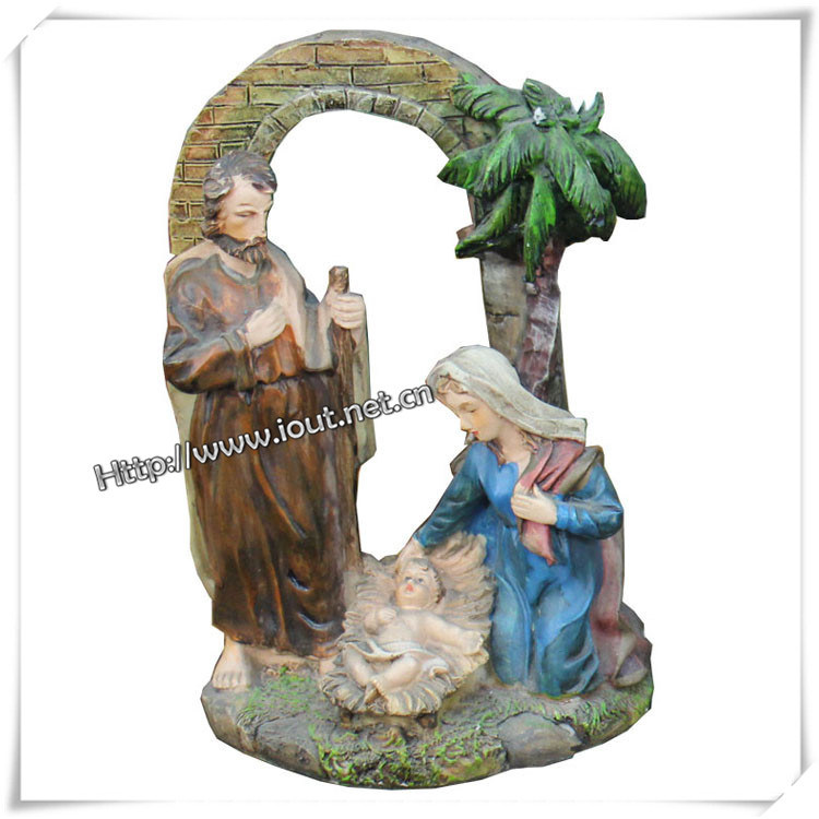 Lucia, Jacinta and Francesco The Three Children of Fatima Statues (IO-ca098)