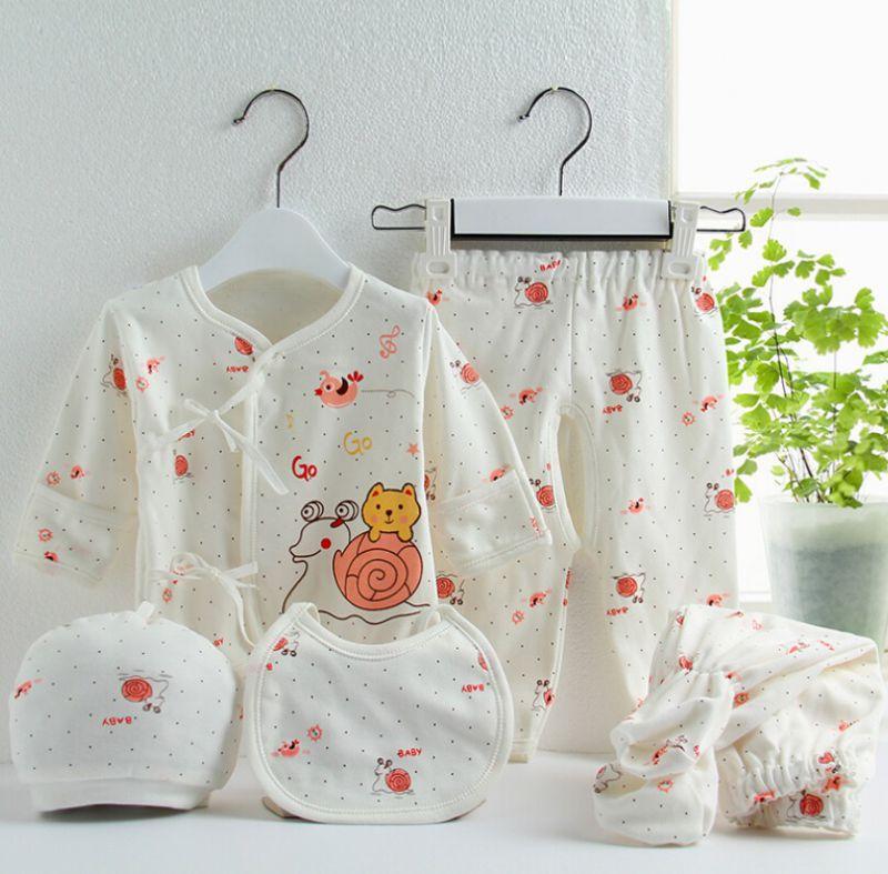 Baby Cotton Underwear Suit 5PCS Baby Clothes