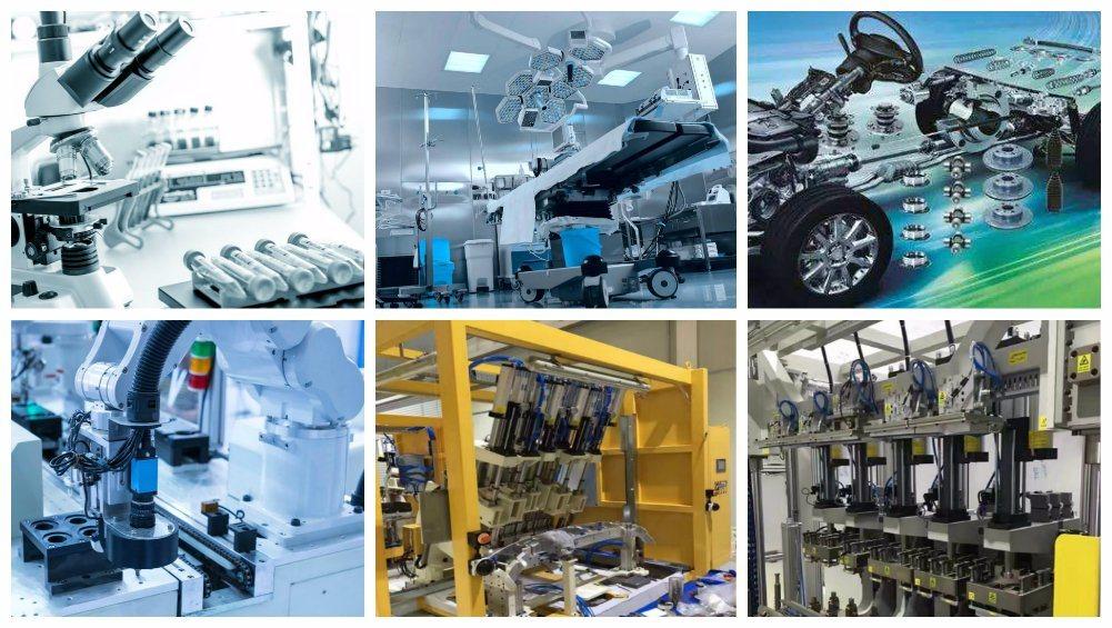CNC Available Long Flat Aluminum Extruded Heatsink