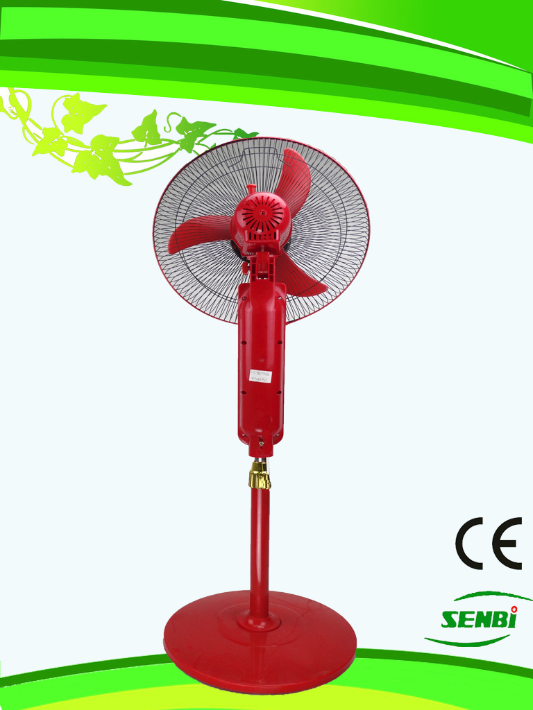 16 Inches AC110V Stand Fan Red Big Timer (SB-S-AC16O)