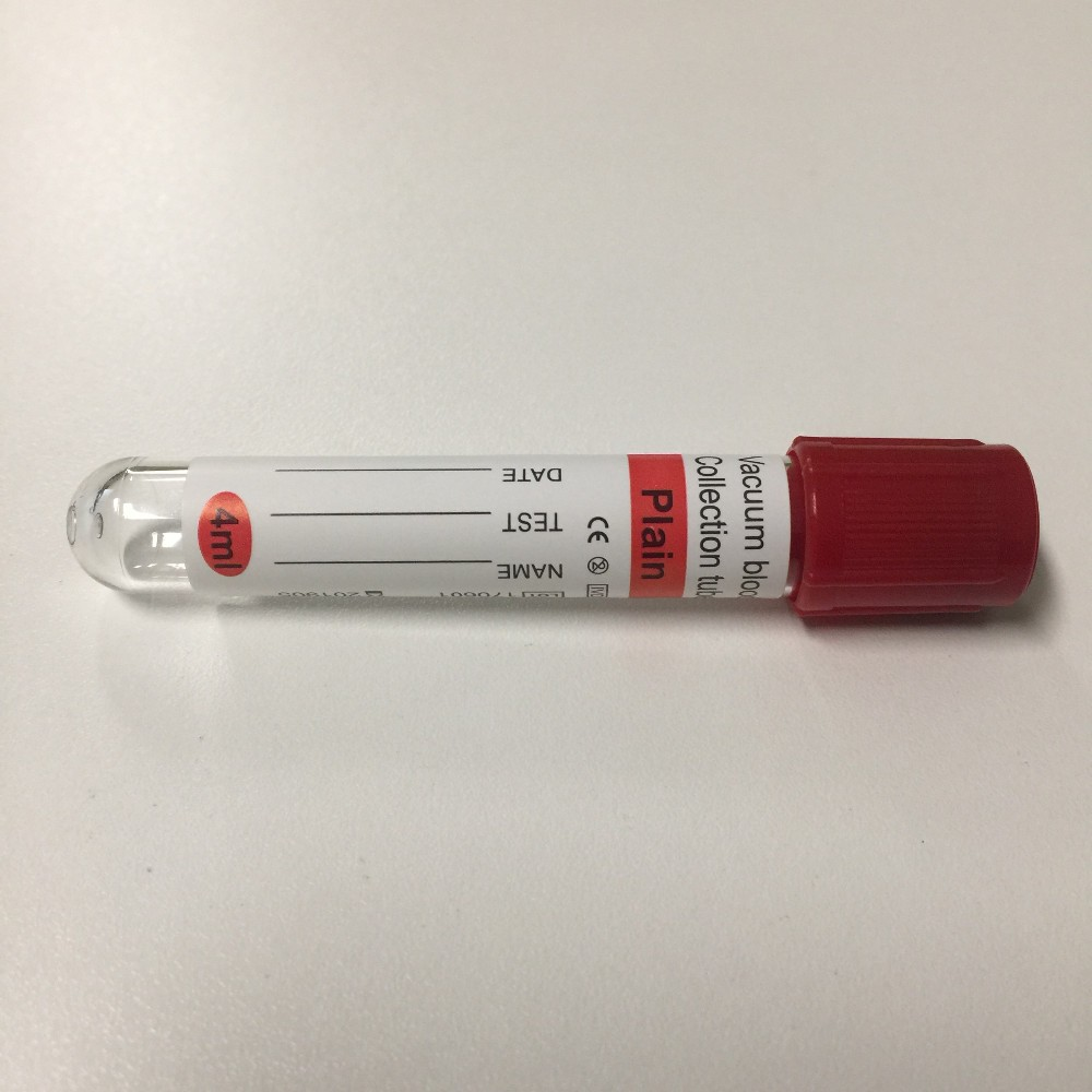 Blood Collection Tube Plain Tube