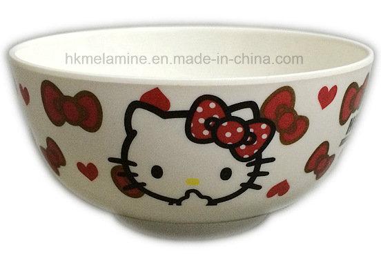 6inch Melamine Plastic Bowl with Logo (BW7071)