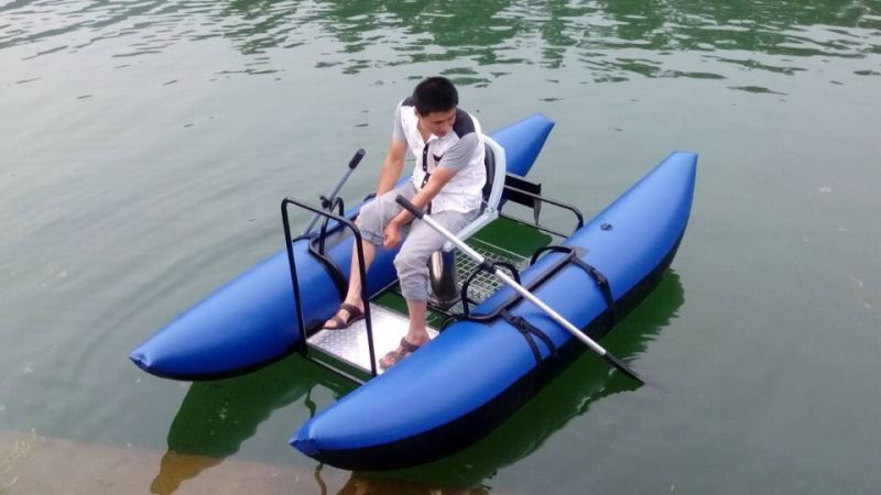 Professional Fly Fishing Dinghy Pantoon Boat