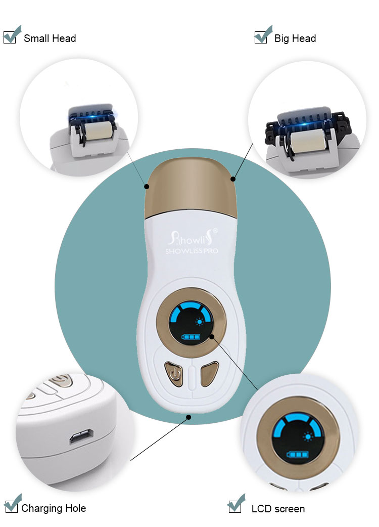 Women Home Use Permanent Hair Removal