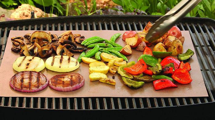 PTFE Teflon Heat Resistant Reusable Non-Stick BBQ Grill Baking Mat