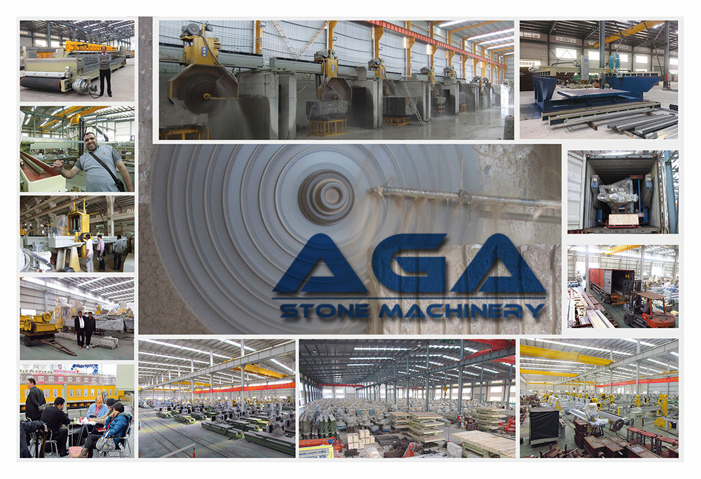 Marble Granite Block Cutter with Multi Blades Cutting Slabs (DQ2200/2500/2800)