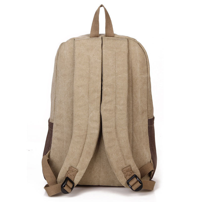 Leisure Canvas Laptop Backpack Bag, Travelling School Backpack Bag