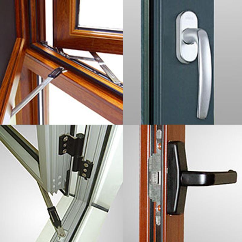 Aluminium Double Glazing Thermal Break Tilt/Top Bottom Hung Windows