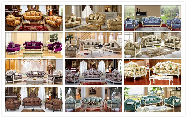 Living Room Furniture / Wooden Sofa for Home Furniture (929E)