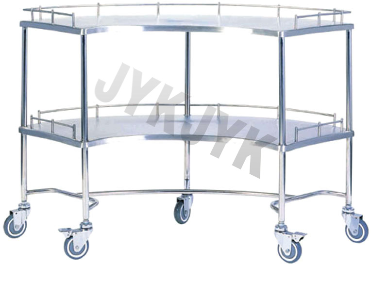Stainless Steel Medicine Trolley Big Size