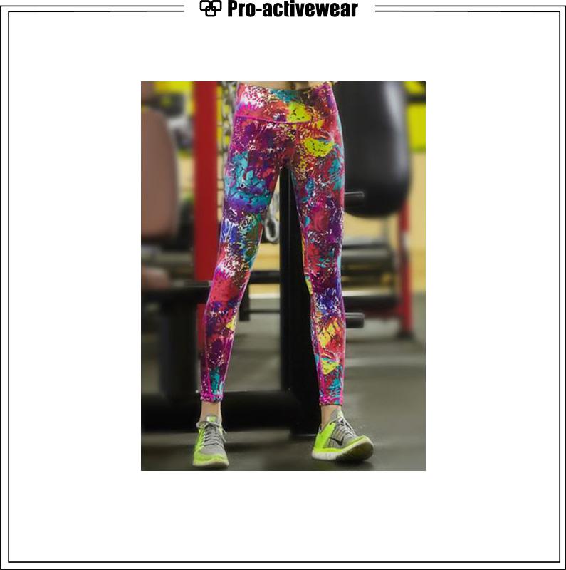 Dry Fit Custom Sublimation Yoga Pants for Women Wholesale Leggings
