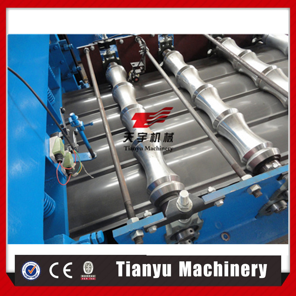 Full Automatic Corrugated Metal Galvanized Glazed Tile Roof Roll Forming Machine