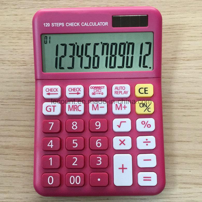 12 Digit Solar Power Electronic Calculator (CA1222)