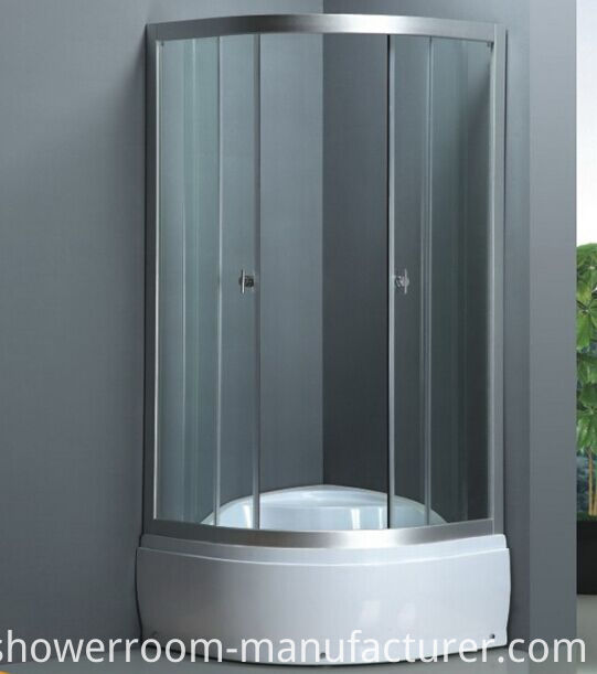High Base Simple Shower Cabin (ADL-8014A)