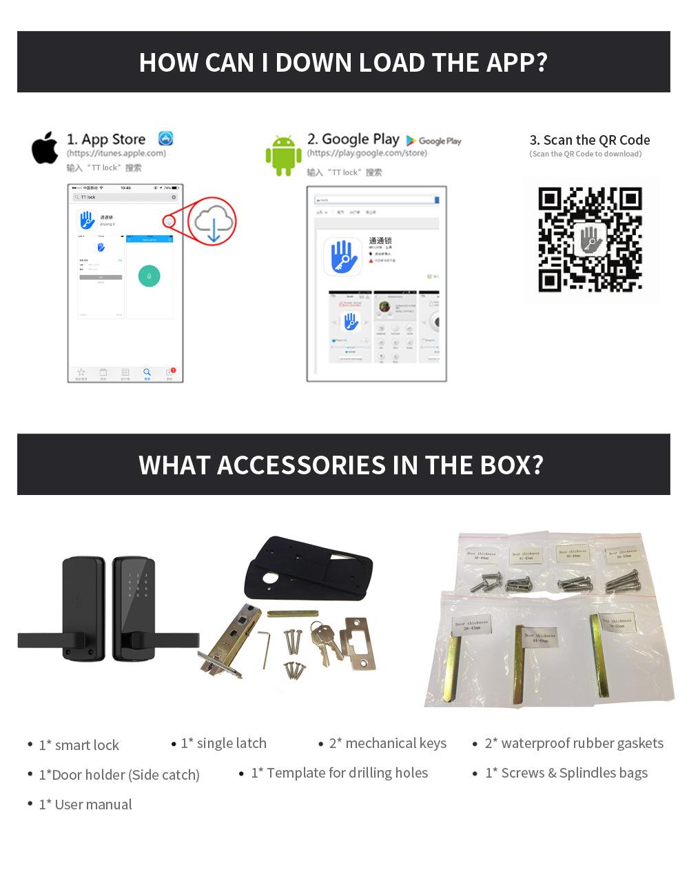 OEM Korea Style Advanced Security Bluetooth Access Control Locks Keyless Digital Smart Door Lock