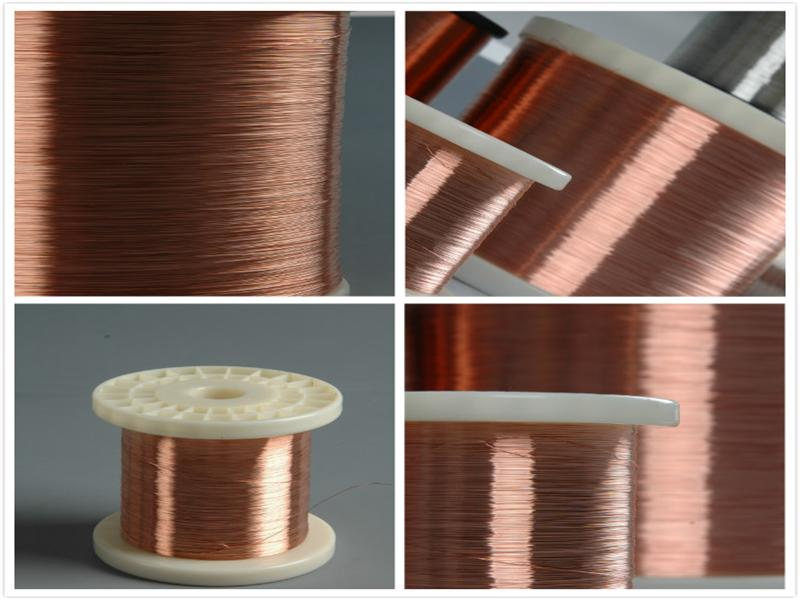 0.10mm-5.50mm Communication Cable CCA Copper Clad Aluminum Wire