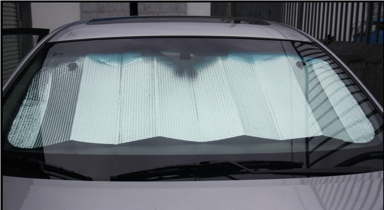 Easy Pack Car Front Sunshade