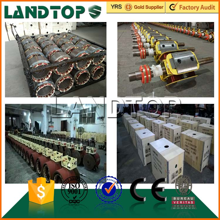 Landtop AC 380V Synchronous 50kw brushless alternator