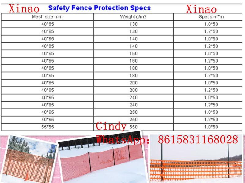 Snow Fence/ Orange Safety Fence /Garden Fence