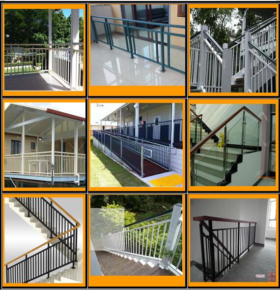 Aluminum Balcony Handrails and Fence