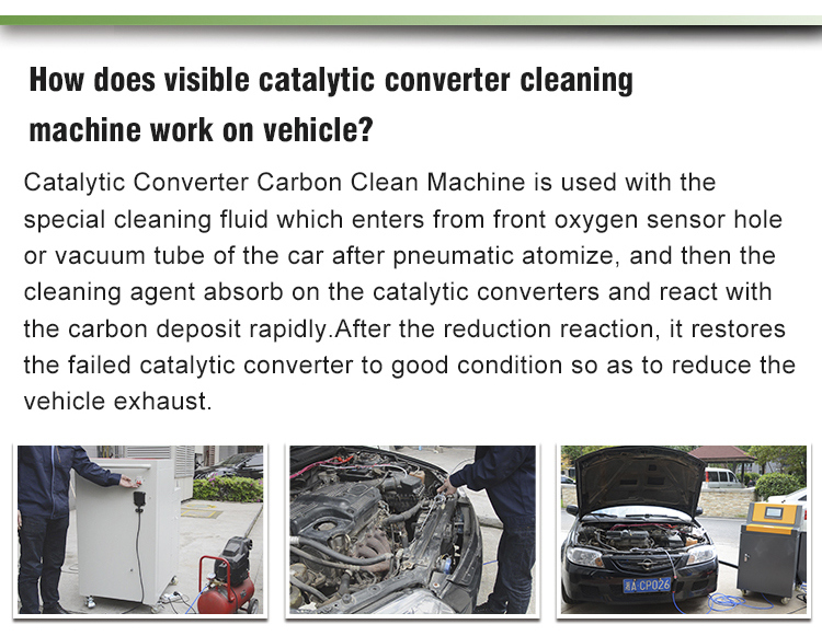 Eco-Friendly Three Way Catalytic Converter Cleaner