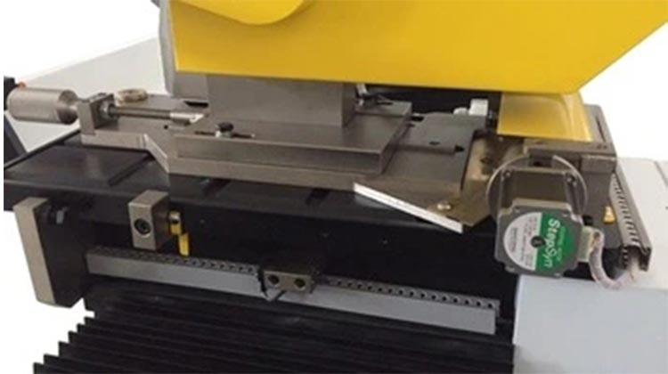 PVC roll cutting machine