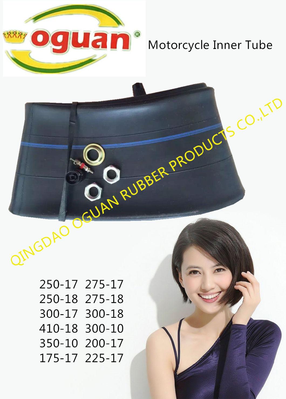 Natural Rubber Inner Tube/Butyl Rubber Inner Tube (130/60-13)