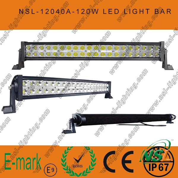 LED off Road Light Bar, 40PCS*3W LED Light Bar, Epsitar LED Light Bar off Road Driving
