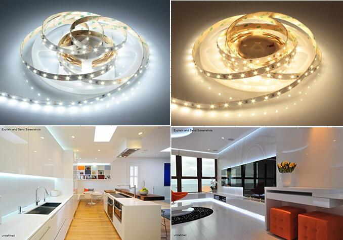 New 2835 LED Strip Light with CRI 90 22lm LED