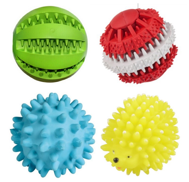 New Products 2017 Squeaky Intellectual Balls for Dog