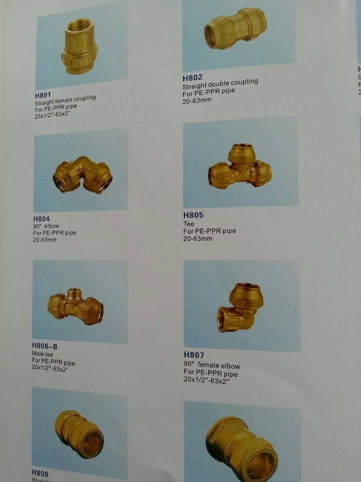 Brass PE PPR Compression Fitting Ring