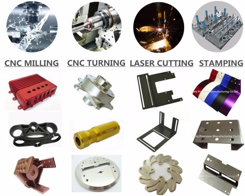 CNC Custom Steel Tube Jack Screw Flange