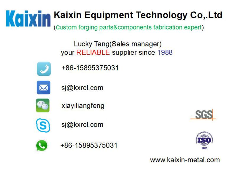 Rolling Ring Spare Parts for Machinery