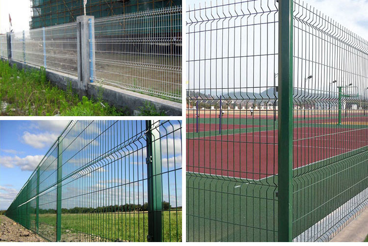 Cheap 3D Welded Wire Fencing Boundary Wall Fence