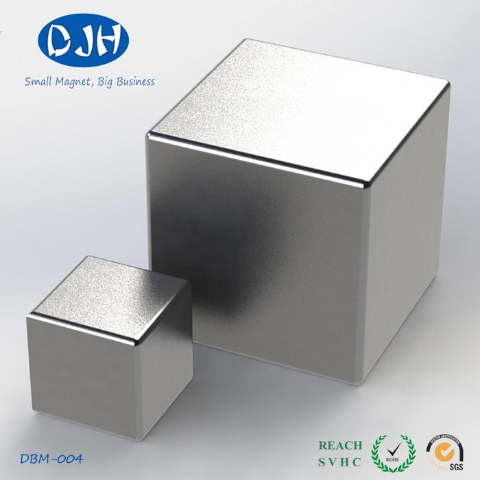 Strong Block NdFeB Magnets Standard N35 Grade Supply