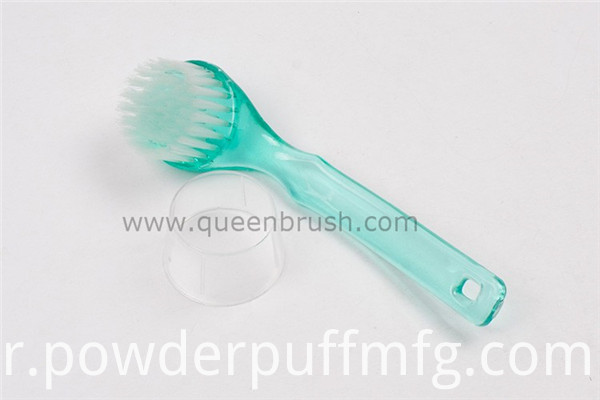 Skin Care Tools Face Cleaning Brush with Long Plastic Handle