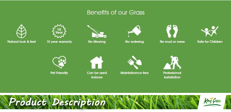 Artificial Outdoor Mini Green Fake Golf Course Grass Mat Carpet Lawn Turf for Home