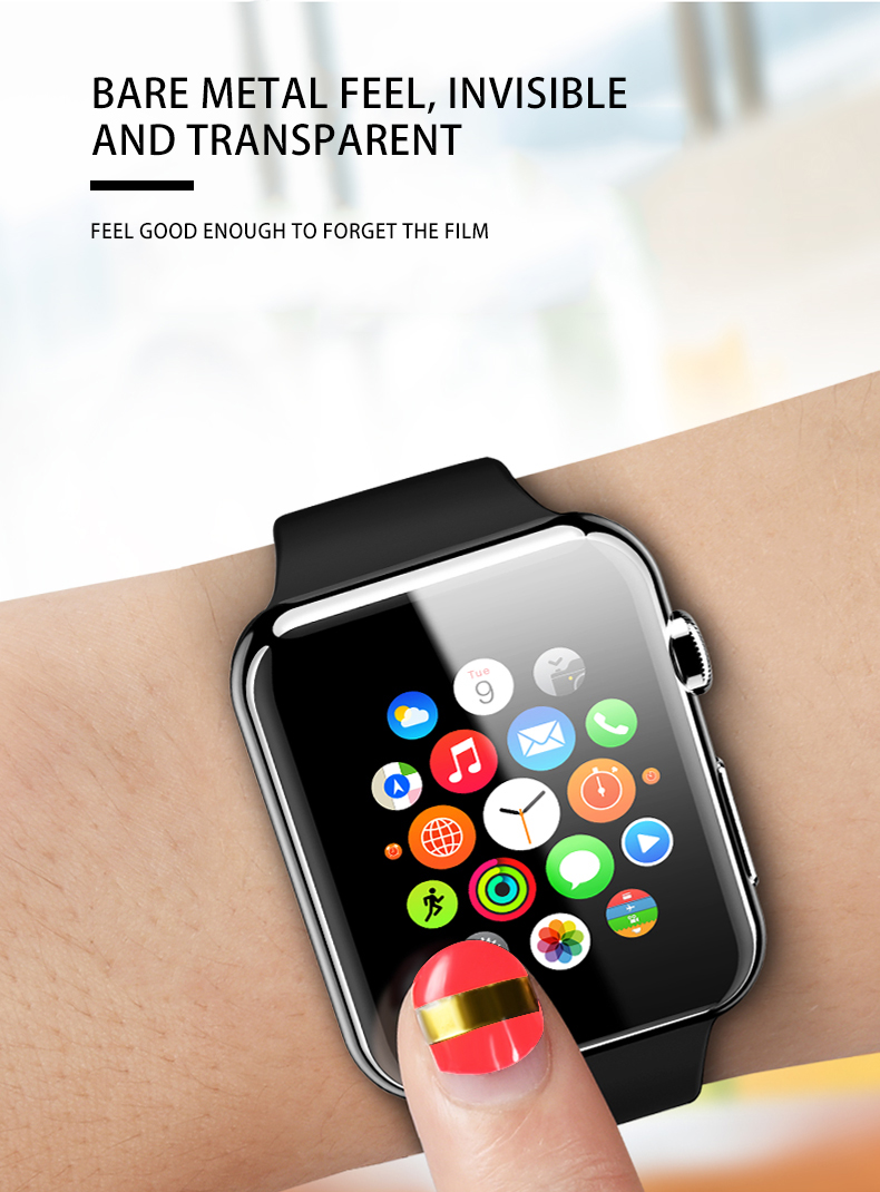 Hydrogel watch protective film
