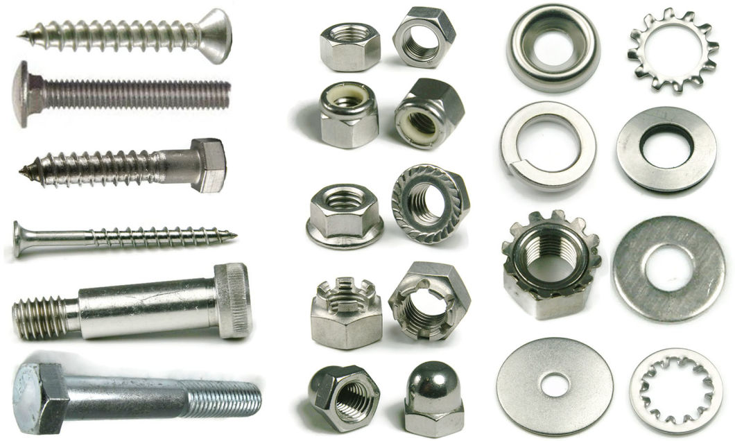 Hex and Round Coupling Nuts