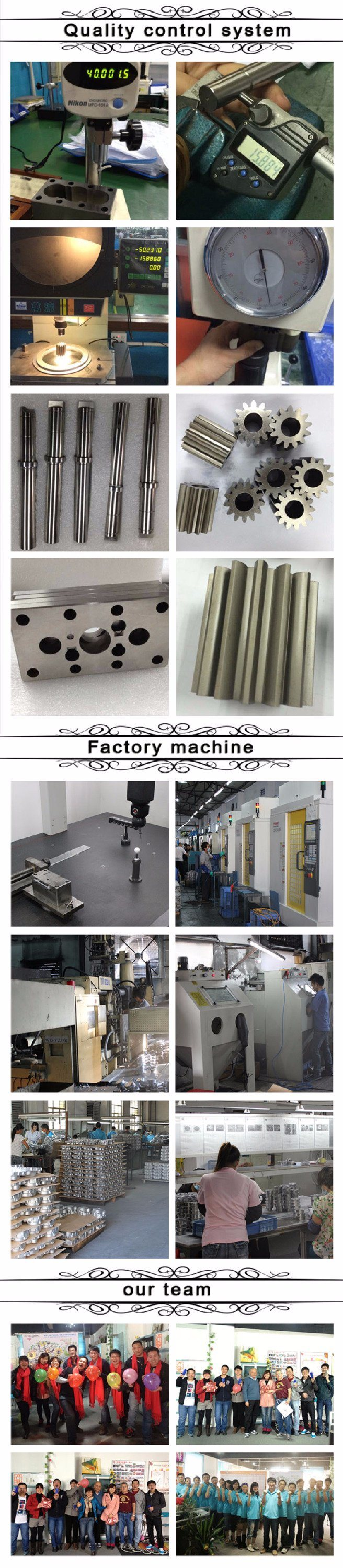 Custom Precision Casting Parts with Zinc Alloy