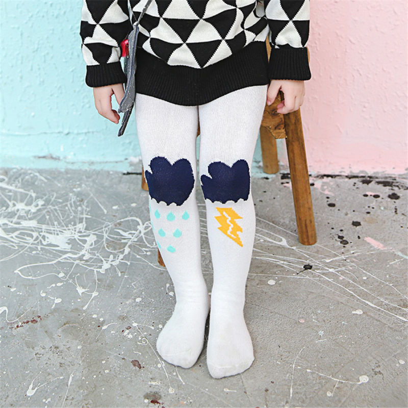 Fancy Designs Little Girl Dance Cotton Tights Pantyhose Colorful Kid Cotton Tights