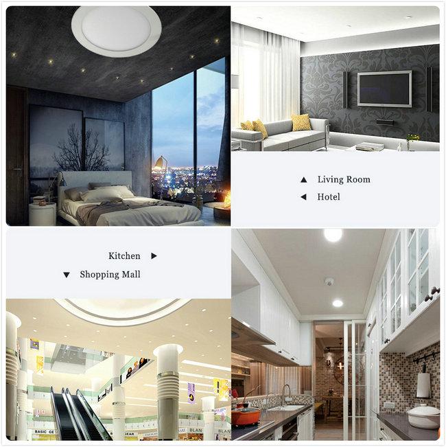 High Quality Die Casting Aluminum 24W LED Backlit Panel Light Housing