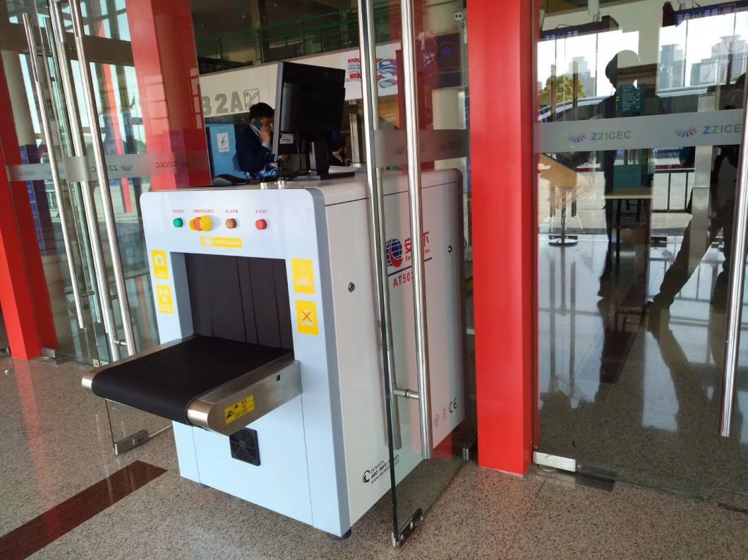 Small Parcel X Ray Baggage Scanner for Hotel, Bank