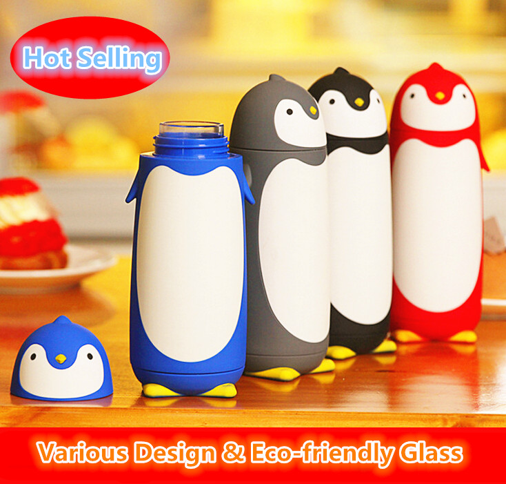 Hot Selling Creative Glass Sport Water Bottle Gift Shop Gift Cup