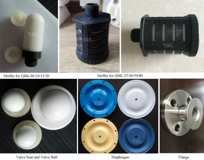 Diaphragm Structure Air Pneumatic Pump for Chemical Industry