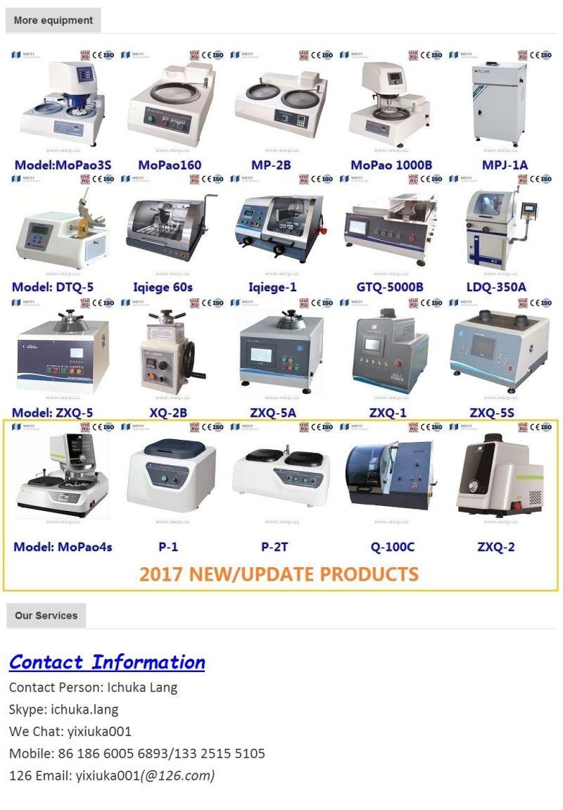 Q-80z Metallographic Auto Sample Cutting Machine for Lab Using